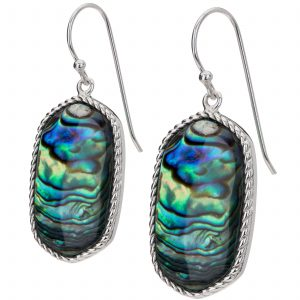Pangea Mines Abalone Drop Earrings