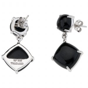 Pangea Mines Colorado Black Moonstone Earrings
