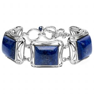 Pangea Mines Lapis Adjustable Toggle Bracelet