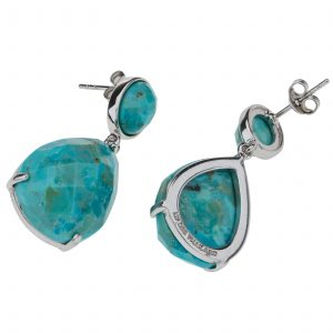 Pangea Mines Turquoise Drop Earrings